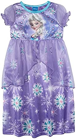 Disney Little Girls' ney Frozen Elsa Fantasy Gown (Kid) - Multicolor - 6