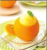 丸ごとフルーツシャーベットアイス4種セット(パンプキン・パイン・りんご・オレンジ) 日本製 ランキングお取り寄せ