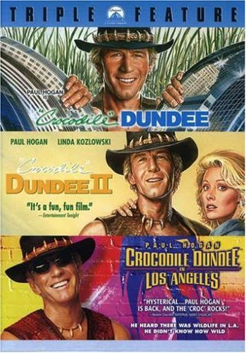 Crocodile Dundee Triple Feature (Crocodile Dundee / Crocodile Dundee II / Crocodile Dundee in Los Angeles) (Crocodile Dundee 3 compare prices)