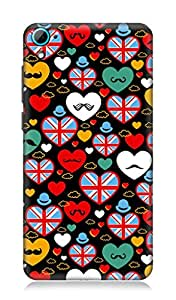 Worldwide Phone Case For HTC Desire 826 (Multicolor)