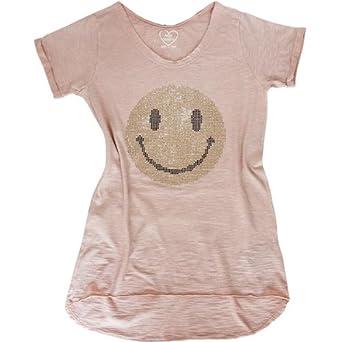miss queen t shirt mit goldenem strass smiley s m l. Black Bedroom Furniture Sets. Home Design Ideas