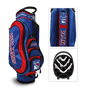 New York Rangers NHL Cart Bag - 14 way Medalist - TGO-14835 by Team Golf