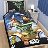 Lego Star War Galaxy Reversible Duvet Cover Single Panel