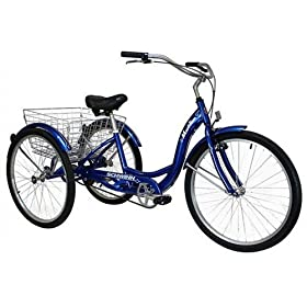Schwinn Meridian Adult 26-Inch 3-Wheel Bike