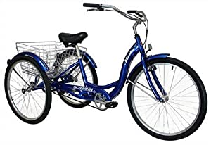 Schwinn Meridian Single Speed Adult Tricycle by Schwinn