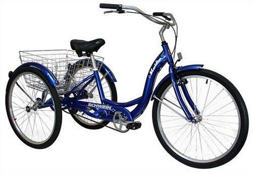 Three Wheeler Accessories : Bikes accessories schwinn meridian adult inch