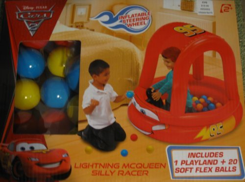 Hot Cars Lightning Mcqueen Silly Racer with 20 Balls Toy/Game/Play Child/Kid/Children