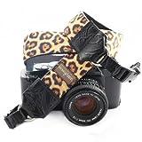 Mimi Green 'Susie' Velvet Leopard DSLR Camera Strap