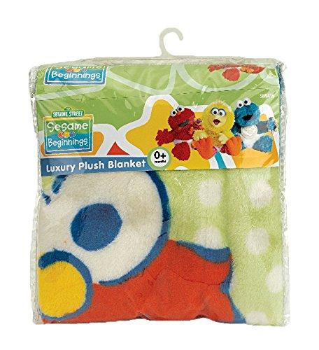 Sesame Beginnings Fleece Blanket (Monsters Inc Toddler Blanket compare prices)
