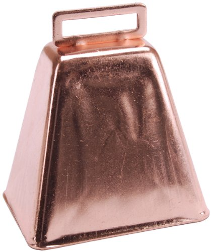 """Cow Bells 3"""" 1/Pkg-Copper *** Product Description: Cow Bells 3"""" 1/Pkg-Copper. Darice-Cow Bell. This Beautiful Copper Bell Is A Great Way To Add A Little Noise To Your Holiday Celebrations; Backyard Bbq'S; Class Room Or Just Use It To Call The Kid ***"""