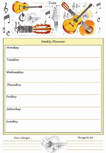 Little-Snoring-Gifts-A4-Weekly-Planner-Guitar-Design