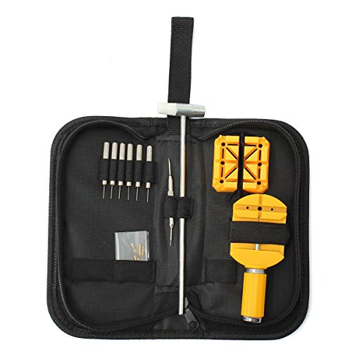 16Pcs-Watch-Repair-Tool-Kit-Case-Band-Remover-Spring-Bar-Hammer-Carrying-Case