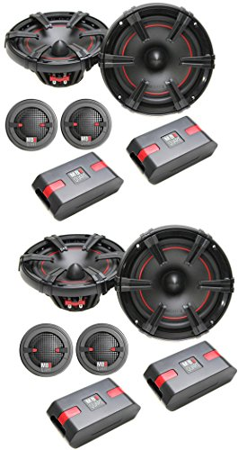 """4 New Mb Quart Osc216 6.5"""" 160W 2 Way Car Component Audio Speakers Stereo System"""