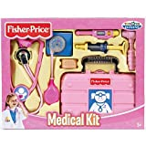 Fisher-Price Medical Kit (Age: 3 - 6 years) (Just what the doctor ordered, with lots of role-play accessories and a case to carry it all) Toy/Game/Play Child/Kid/Children