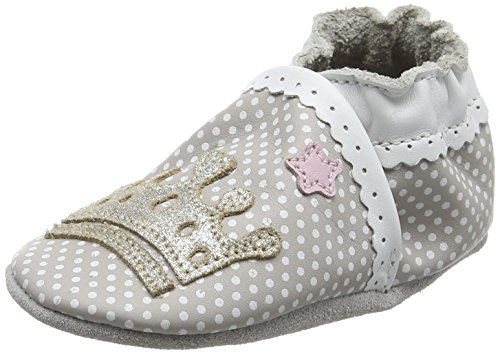 RobeezFAIRY TALE - Scarpine e pantofole primi passi  Unisex - Bimbi 0-24 , Grigio (Grau (121)), 21/22