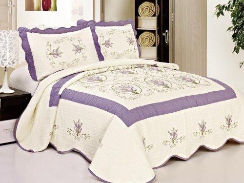 King Size Bedspread Sets 3540 front