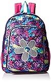 Trailmaker Big Girls Flower Applique Backpack, Pink, One Size