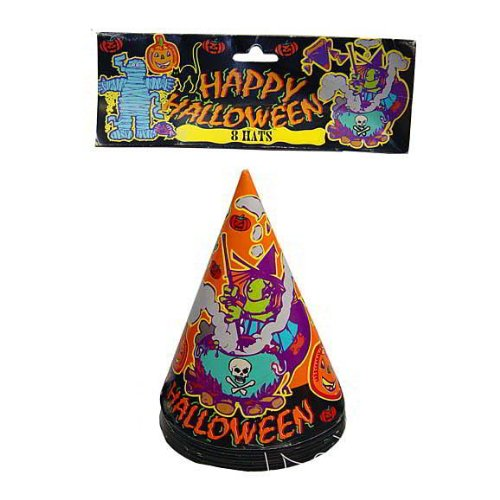 72 8 pack witch party hats