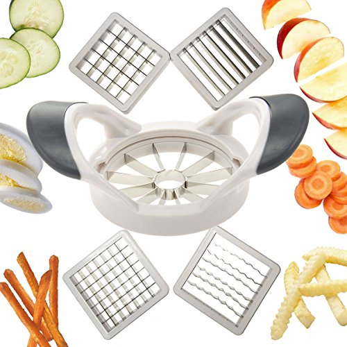 Deluxe 5 Interchangeable Metal Blade Inserts Apple Corer Attachment (Kitchenaid Corer compare prices)