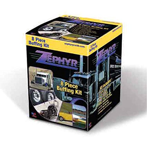 Zephyr 8 Piece Buffing Kit (Zephyr Pro 40 Metal Polish compare prices)