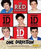 1D ONE DIRECTION THE RED STICKER COLLECTION -ALBUM AND ALL THE STICKERS TO COMPLETE THE ALBUM PANINI