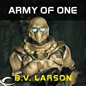 Army of One: A Star Force Story (       UNABRIDGED) by B.V. Larson Narrated by Mark Boyett