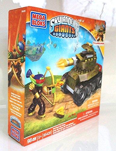 Mega Bloks, Skylanders Giants, Troll Tank Gun Down (95420) - 1