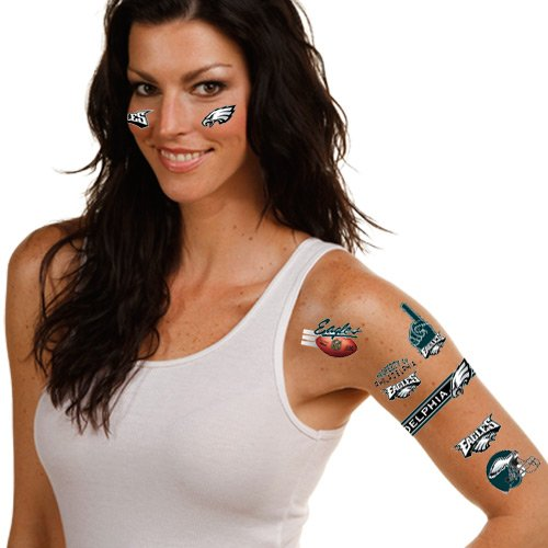 NFL Philadelphia Eagles 09402091 Tattoos - 1