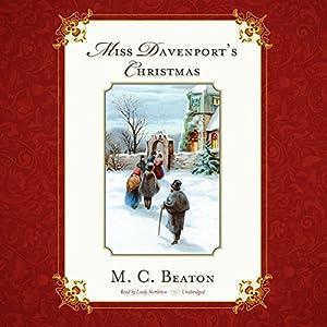 Miss Davenport's Christmas Audiobook