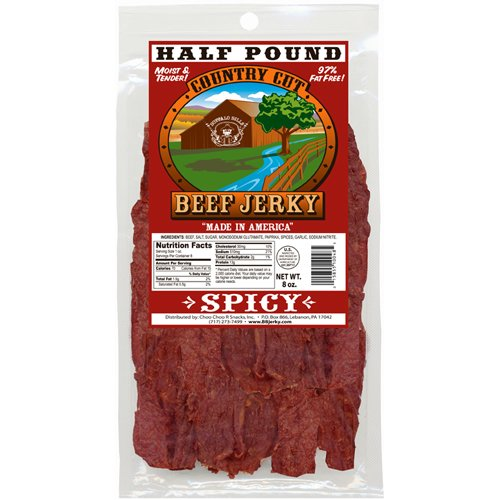 Buffalo Bills 8oz Spicy Country Cut Beef Jerky Pack
