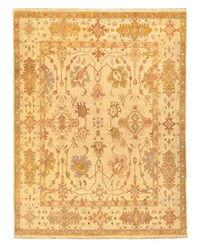 """nuLOOM One-of-a-Kind Herschel Hand-Knotted Rug, Ivory, 7' 11"""" x 10' 1"""""""