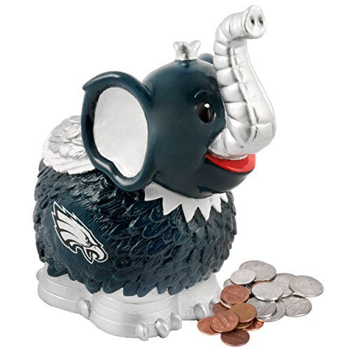 NFL Philadelphia Eagles Thematic Elephant Piggy Bank - 1