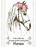 img - for Color With Me! Grandma & Me Coloring Book: Horses book / textbook / text book