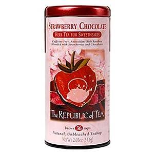 The Republic of Tea, Strawberry Chocolate Tea, 36-Count
