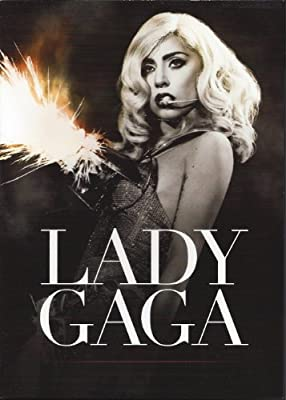 Lady GaGa 5 x 3 Monster Ball Tour Promo Postcard Monster Ball at Madison Square Garden Born this way Remix Born this way DVD Collection Promo Card Streamline Records