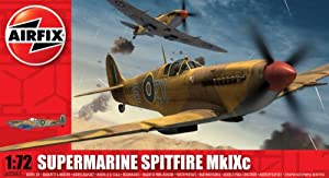 Airfix A02065 1:72 Scale Supermarine Spitfire MkIXc Military Aircraft Classic Kit Series 2 by Hornby
