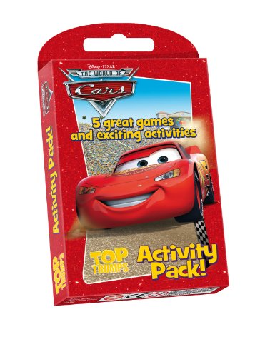 Top Trumps Disney Pixar Cars Game and Activity Pack