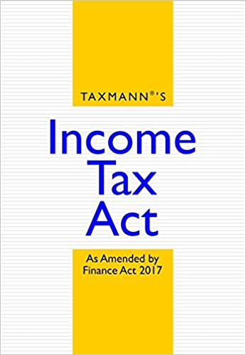 Income Tax Act Book 2017 Finance Act 2017