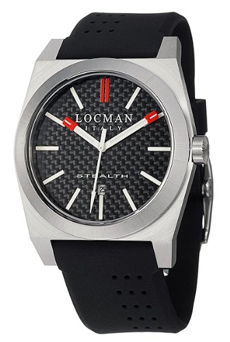 LOCMAN Watches:Locman Men's Sport Stealth Watch 201CRBBK Images
