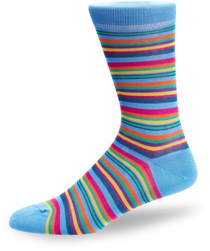 Peter Jones Embankment Stripe Men's Socks