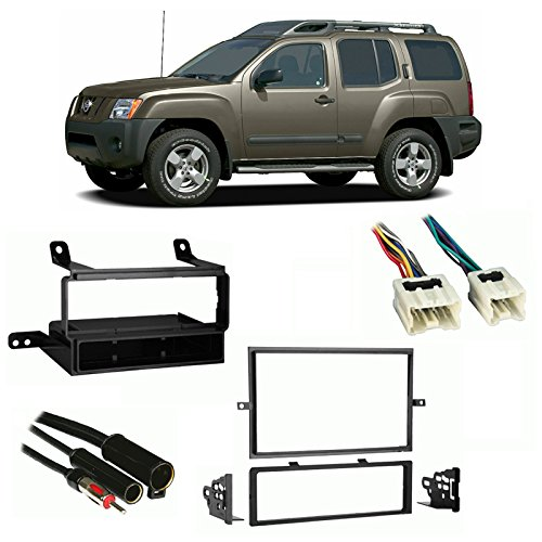 Fits Nissan Xterra 2005-2008 Multi DIN Stereo Harness Radio Install Dash Kit (Nissan Xterra 2005 Accessories compare prices)