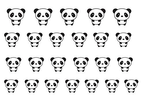 Haute Qualite Nail Art pour chaque occasion! Panda
