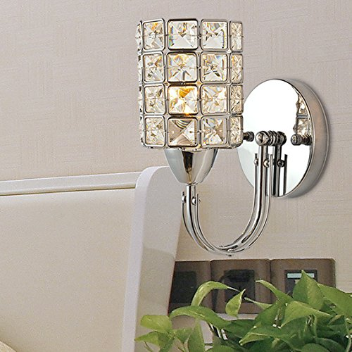 Lampe de mur de cristal moderne mur du couloir de mur de la chambre minimaliste
