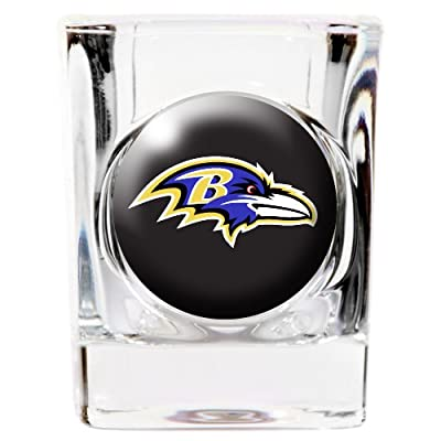 Baltimore Ravens Square Shot Glass