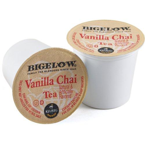 Bigelow Vanilla Chai Tea Keurig K-Cups, 18 Count front-138096