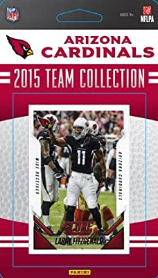 Arizona Cardinals 2015 Score Factory Sealed NFL Football Complete Mint 12 Card Team Set Including Larry Fitzgerald Carson Palmer Plus