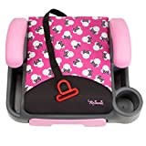 Disney-Store-and-Go-Backless-Booster-Car-Seat-Minnie-Silhouette-Pink