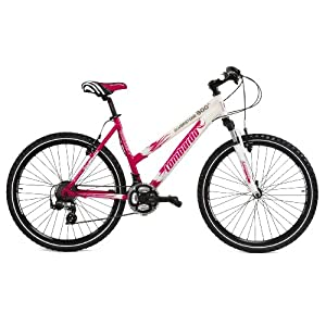 Lombardo Alverstone 300 Ladies Lightweight Performance Bike - White/Cerise, 19 inch