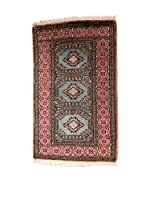 QURAMA Alfombra Kashmir Rojo/Multicolor 99 x 63 cm