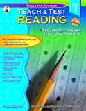 img - for Teach & Test Reading Grade 1 by Mary Newmaster (2002-07-02) book / textbook / text book